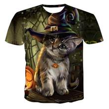 2020 mnner Neue Personalisierte T-Shirt Tier Druck T-Shirt 3D mnner T-Shirt Neuheit Tier Tops T-Shirt Mnner der Kurzen hlse