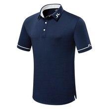 Lato nowi mężczyźni z krótkim rękawem Golf T Shirt oddychający JL ubrania sportowe na zewnątrz czas wolny sport koszulka golfowa S-XXL w wyborze za darmo