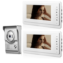 Door Bell Video-Intercom-System Phone Apartment Night-Vision Security Yobang IR 7 Wired