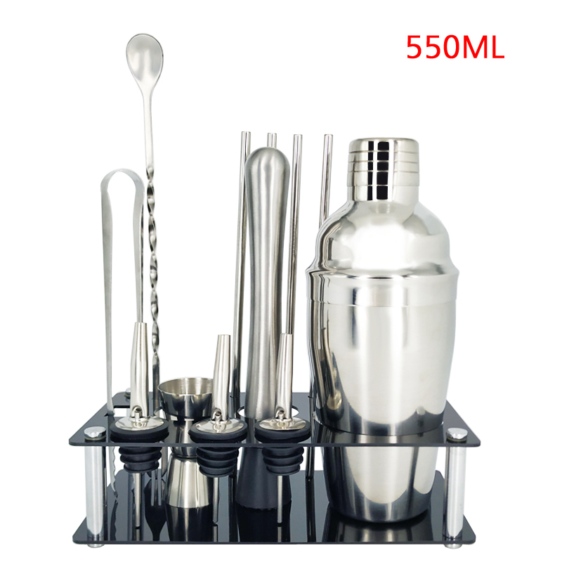 12Pc 550ml Rack