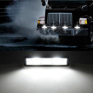 Image 5 - Aeobey 1pcs LED פנסי 12V עבור אוטומטי אופנוע משאית סירת טרקטור קרוואן Offroad עבודה אור 48W LED עבודת אור זרקור