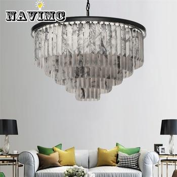 Современная роскошная мраморная Люстра для освещение для отелей освещение виллы