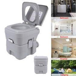 Honhill inodoro portátil al aire libre Camping Carga 130kg adulto teléfono móvil para niños inodoro Camping inodoro para el hogar Hospital Barco de viaje 20L