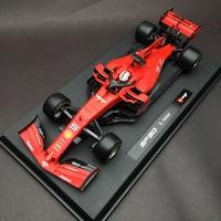 Bburago 1:18 1/18 2019 Ferrari SF90 Vettel No5 Formula 1 F1 Racing Car Vehicle Diecast Display Model Toy For Boys Kids