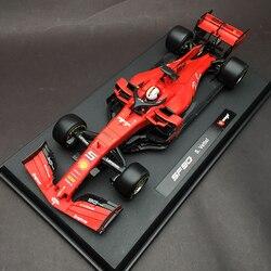 Bburago 1:18 1/18 Ferrari 2019 SF90 Vettel No5 Fórmula 1 F1 coche de carreras vehículo fundición modelo de juguete para niños