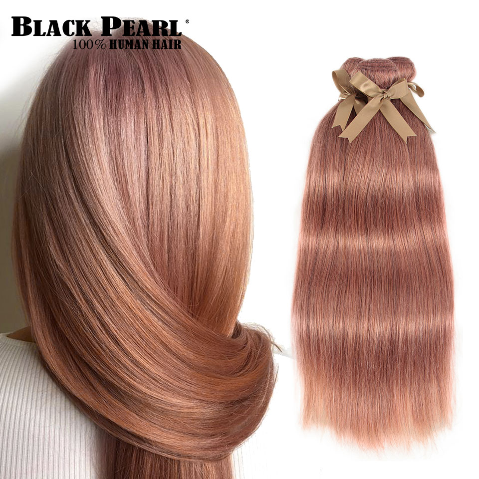 Brazilian Straight Hair Remy Human Hair Bundles 100g Color S-Pink Ii Brazilian Hair Weave Bundles Fast Shipping