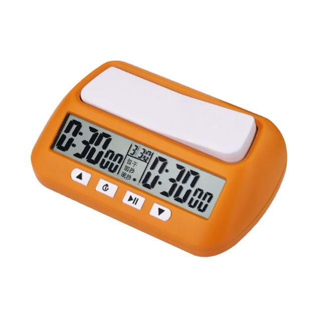 Buy Best Professional Chess Clock Compact Digital Watch Count Up Down Timer Board Game Stopwatch Bonus Competition Hour Meter-