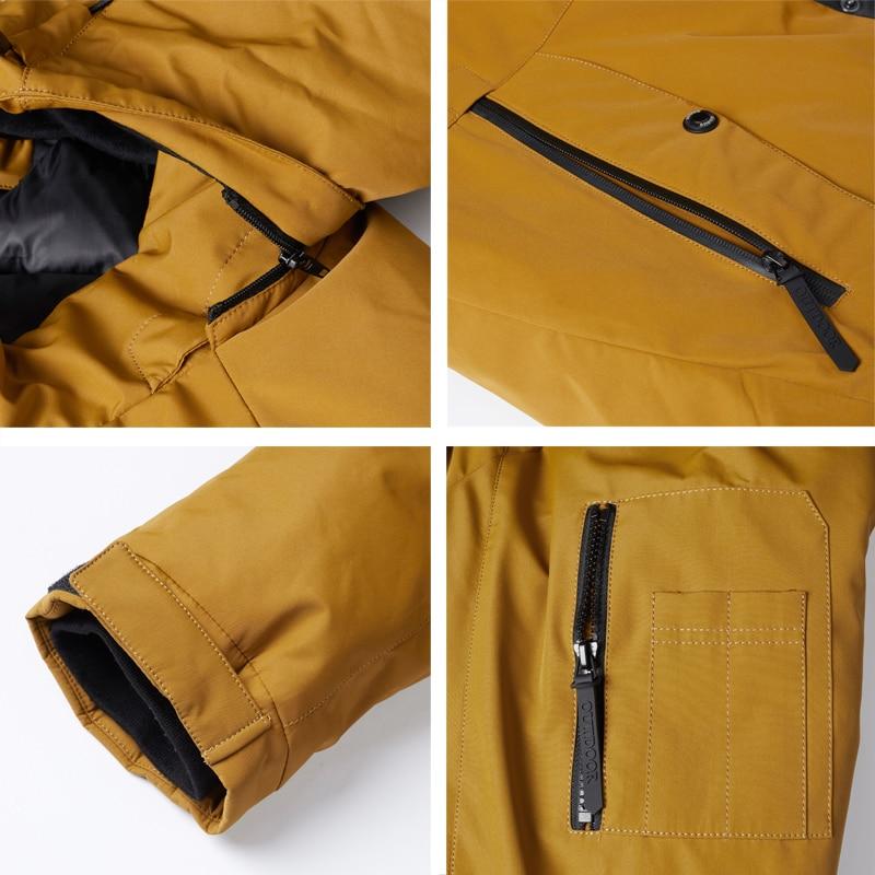ICEbear 2020 autumn and winter new men's hooded coat warm men's cotton jacket fashion men's clothing MWD20853D 5