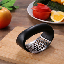 Garlic Presser Chopper Manual Vegetable-Tool Mincer Grinding-Slicer Cooking-Gadgets Stainless-Steel