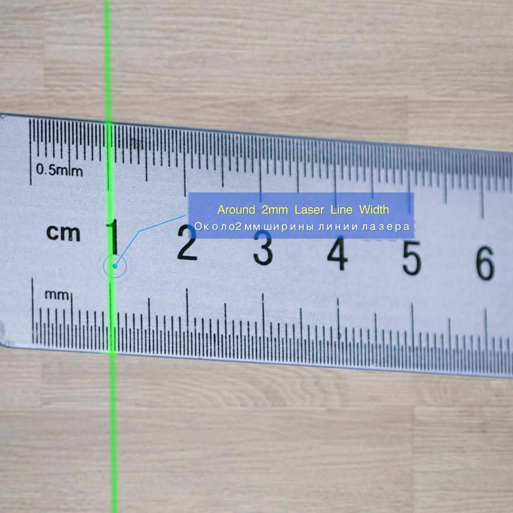 auto nivelamento ao ar livre 360 rotativo laser verde