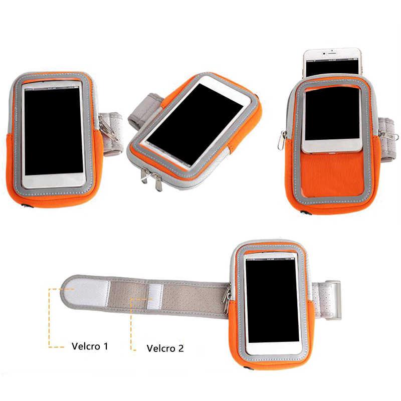 العالمي الذراع حقيبة 4-6 بوصة الهاتف المحمول الحركة غطاء تشغيل الرياضة حامل الذراع من الهاتف على الذراع غطاء حماية