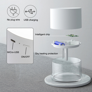 Image 5 - Rechargeable Usb Portable Air Humidifier Wireless Electric Humidifiers Diffuser Cool Mist Maker Night Lamp Purification For Home