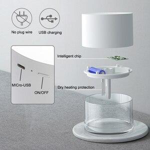 Image 5 - 충전식 Usb 휴대용 공기 가습기 무선 전기 가습기 디퓨저 쿨 안개 제조 업체 밤 램프 정화 홈