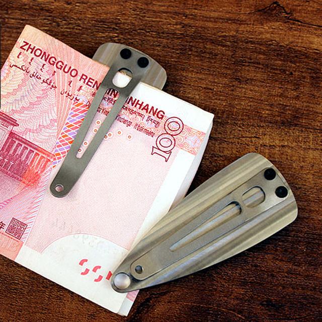 Titanium Alloy Money Clip