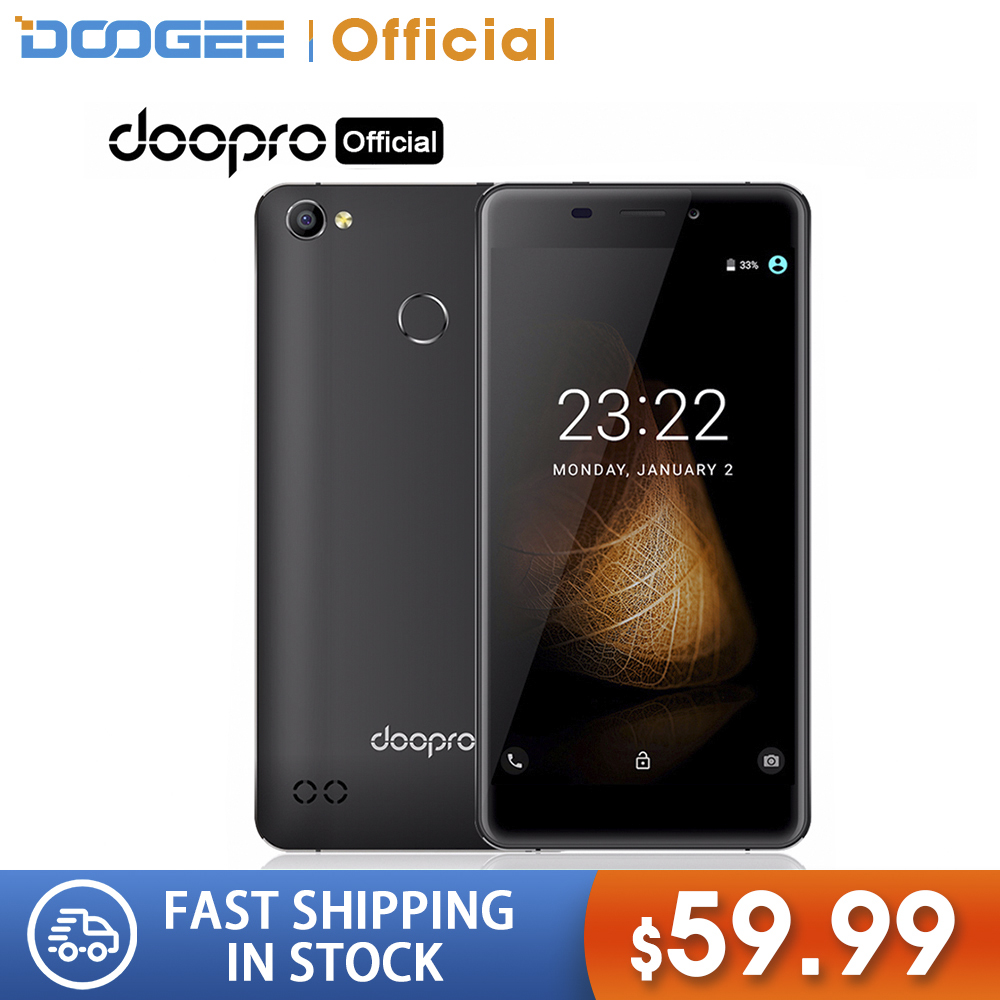 Doogee Doopro C1 Pro Android 7.1 SmartPhone 5.3'' Incell 2GB RAM 16GB ROM 4200mAh Snapdragon Quad Core 13.0MP Fingerprint 4G