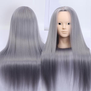 Allaosify Hair Hairdressing Training Mannequin Practice Head Salon Professional Hairdresser
