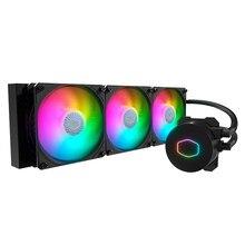 Refroidisseur Master ML360L V2 ARGB, PC pour ordinateur, refroidisseur à eau liquide, ventilateur RGB adressable, 120mm, silencieux, pour 115X, 2011, 2066 AM4
