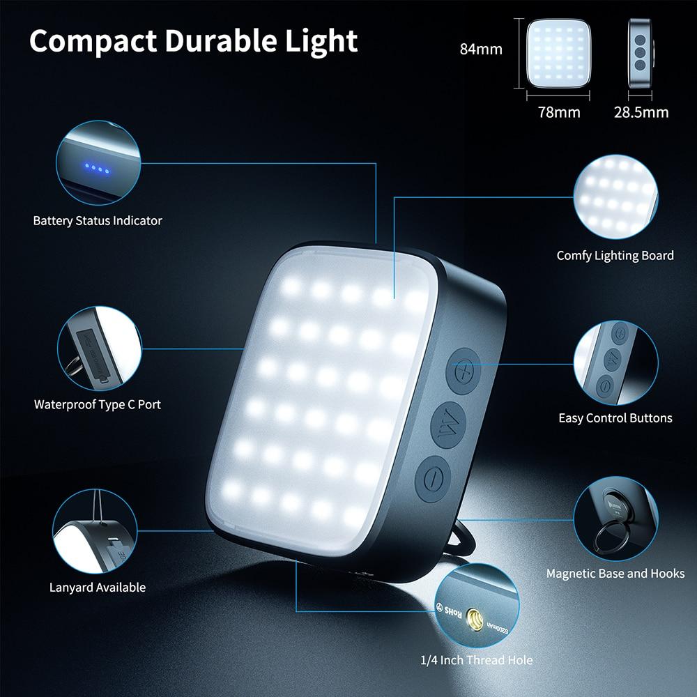wuben f5 power bank lanterna 500 lumens 01