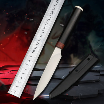 fixed blade straight knife outdoor camping utility knives hunting knifes survival  keychain knife EDC Knife Tools hx outdoors survival fixed knife bamboo handle camping knife black blade saber tactical tools cold steel hunting straight knife