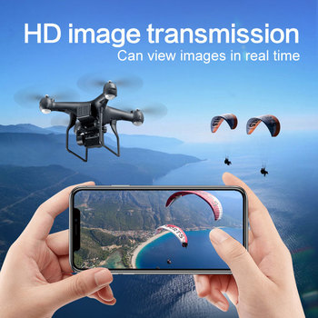 Professional Drone with 4K Rotating ESC Camera HD WiFi FPV Altitude Hold Wide Angle RC Quadcopter Helicopter Toy VS XY4 E58 1