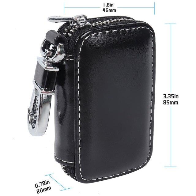 Купить кожаный умный автомобильный ключ с дистанционным управлением картинки цена