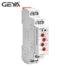 цена на Free Shipping GEYA GRV8-06 3 Phase Failure Phase Sequence Voltage Monitoring Relay Voltage Sensing Protection Relay 460V