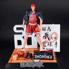 סלאם דאנק Hanamichi Sakuragi SHOHOKU כדורסל צוות אקאגי haruko 1/8 GK PVC פעולה איור האוסף סקסי דגם צעצועי Brinquedos