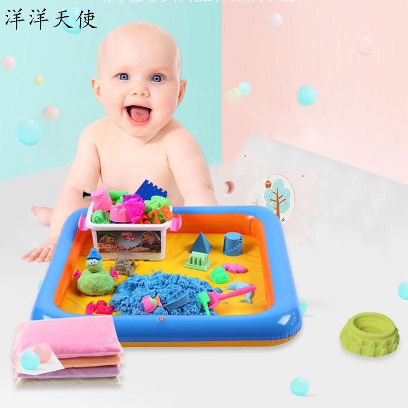 2kg espace sable moule jouets ensemble Puzzle Slime fournitures bricolage nuage Slime charmes bébé enfants jouets Slime moelleux boue mastic clair Slime