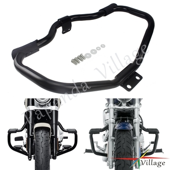 New Motorcycle Mustache Highway Crash Bar Engine Guard For Harley Sportster XL1200 Iron 883 XL883N Roadster SuperLow Forty-Eight