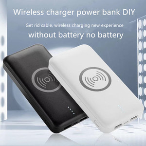 Image 1 - wireless charging power bank case diy Kit Fast Charger Mobile Power Bank Case