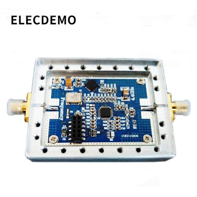 ADF4351 RF אות מקור 35 M 4.4G עם חלל לולאת שלב נעול PLL תומך לטאטא תדר מקפץ