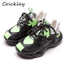 children sneakers fashion Noctilucent microfiber leather kids shoes for boys girls sport running sneaker Comfortable Casual shoe