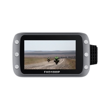 HD Front and Rear 1080P Lens with Wifi Motorcycle Locomotive Driving Recorder GPS Driving Recorder