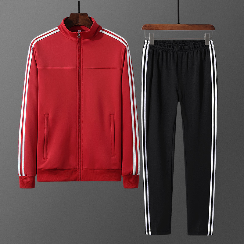 Leisure Suit COUPLE'S 2019 Autumn And Winter Breathable Warm Middle Aged And Elderly People Coat Trousers Two-Piece Women's Spor