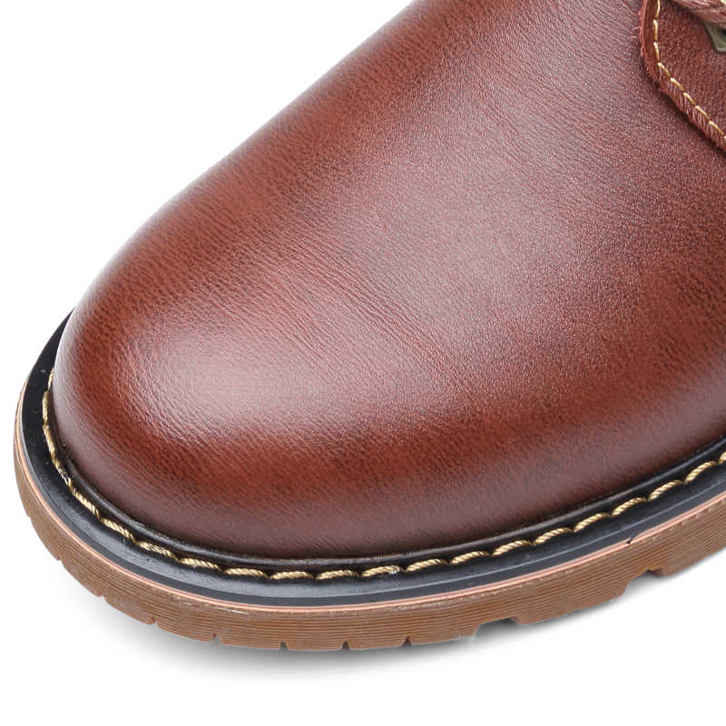 Bao Da Chính Hãng Giày Casual Nam Mùa Đông Plus Nhung Người Giày Nâu Nam Giày Cho Nam Giày Thiết Kế Chính Thức Oxford