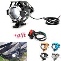 Moto rcycle LED phares U5 Led projecteur moto lumière brouillard projecteurs 12V pour Yamaha BT1100 bt 1100 TRX850 XJ6 DIVERSION FZR400   -