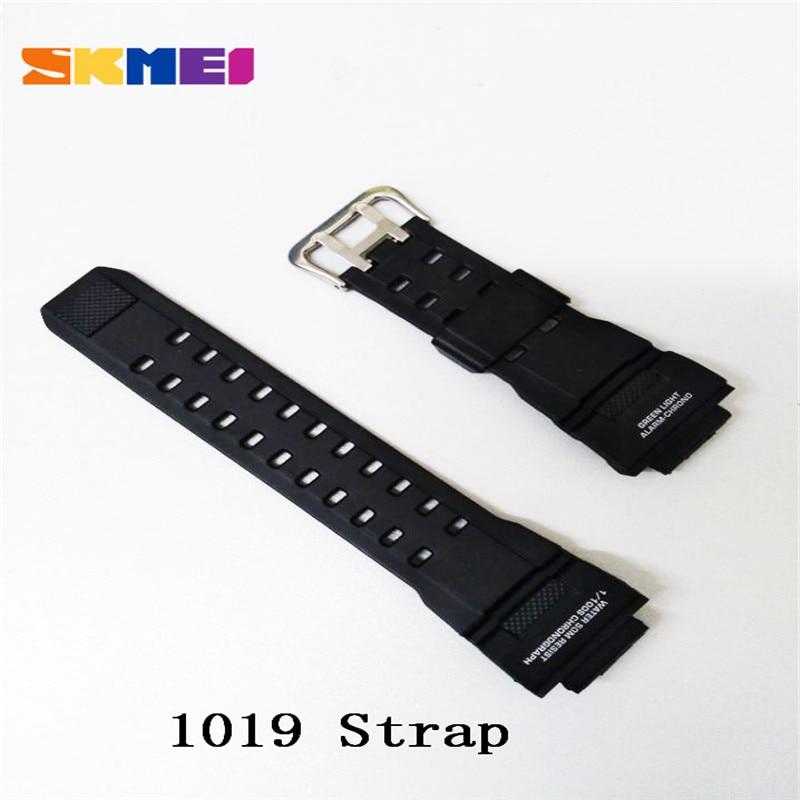 SKMEI pasek mężczyźni zegarki czarny nadgarstek silikon/PU/plastik/skórzany pas dla kobiet mężczyzn zegarek SKMEI kompania SKMEI 1251 pasek