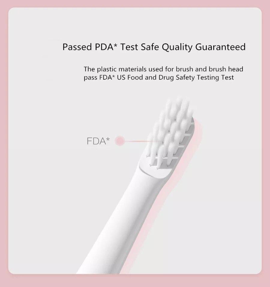 Xiaomi mijia T100 Sonic Electric Toothbrush Adult Waterproof Ultrasonic automatic Toothbrush USB Rechargeable 5