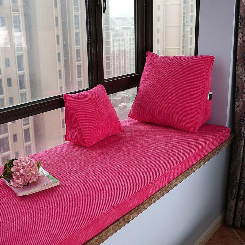 Solid color Cushion Multiple sizes Floor cushion tatami cushion Home office decoration Chair cushion Customizable Free shipping