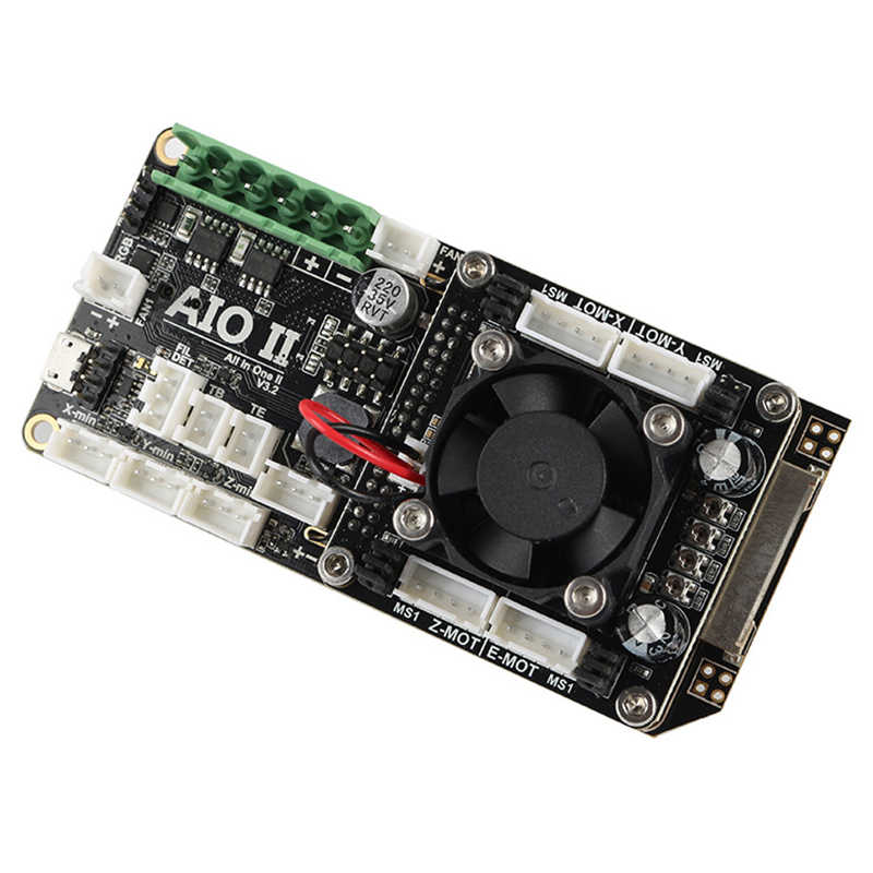AIO II V3.2 Mainboard Tất Cả Trong Một II 32 Bit MCU 32Bit ST820 Driver 256 Microsteps Bộ Điều Khiển Ban Hỗ Trợ Marlin cho 3DP/CNC