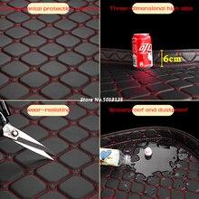 Car Rear Trunk Mat For Kia All Models rio sportage cerato k2 k3 k4 k5 carnival Boot Liner Tray Auto Accessories