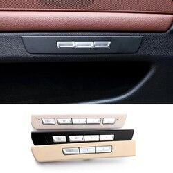Автомобильные дверные наклейки для замка для f10 f11 f01 f02 f04 f07 BMW 5 7 серии memory seat unlock отрегулируйте переключатель кнопок крышка отделка