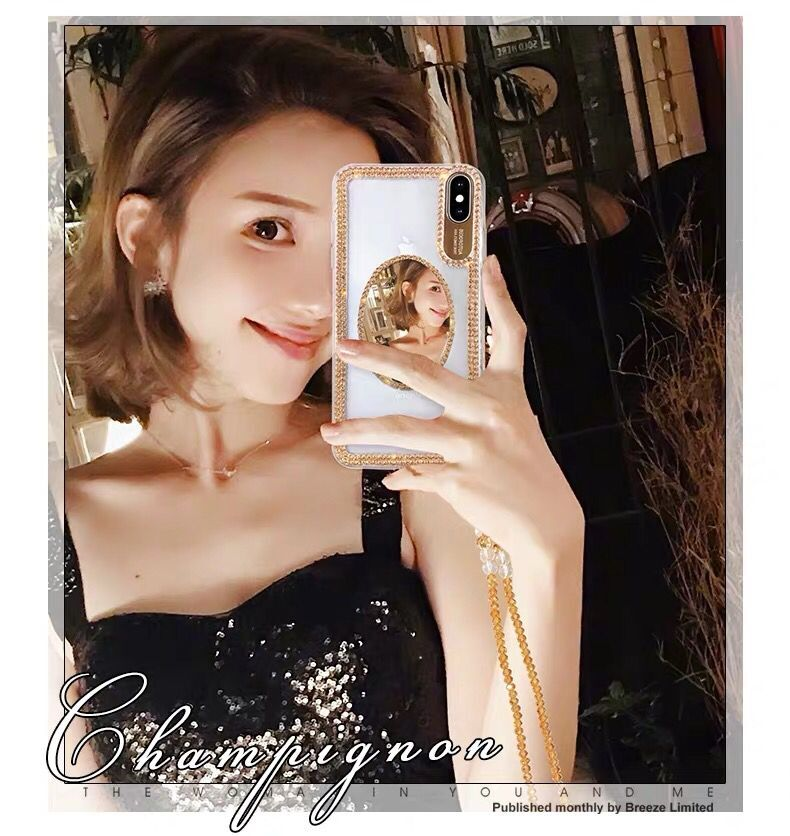 Hc51ce2d50b954601995b77dfeb1055f7z Luxury Bling Glitter With Finger Ring Case For iPhone X 8 7 6 6S Plus XR XS 11 Pro Max Cover Fashion Diamond Soft TPU Phone Case