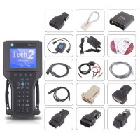 For GM Tech2 Auto Scanner for GM/Saab/Opel/Isuzu/Suzuki/Holden Tech 2 Free 32MB Software Card