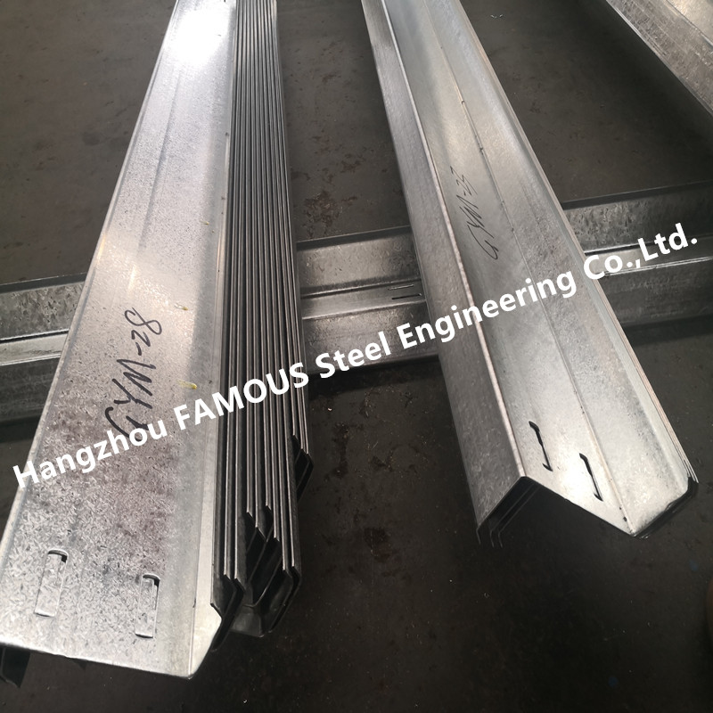 High Strength DHS Equivalent Galvanized Steel Purlins Girts Exported To Australia