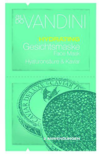Aldo Vandini Hydrating Acido Ialuronico & Caviale Gesi Chtsmaske 15ML