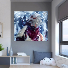 Kakashi Anime Poster Naruto Frame Picture Home Decoration Wall Art Canvas Painting Modern Cartoon Birthday Gifts