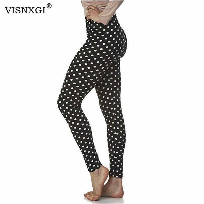 VISNXGI Autumn Vertical Stripe Leggings Winter Feminina Fashion Leggins Stretchy Slim Skinny Mujer Casual Trousers Hot Legging