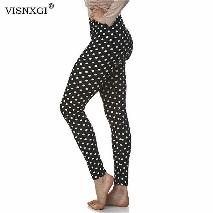 VISNXGI Autumn Vertical Stripe Leggings Winter Feminina Fashion Leggins Stretchy Slim Skinny Mujer Casual Trousers Hot Legging