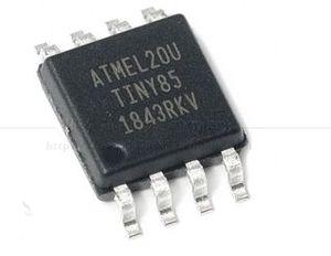 Image 1 - 100 قطعة جديد الأصلي ATTINY85 20SU SOIC8 AVR